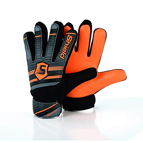 Shield Gant Gardien Football Enfant ECONOTECH (Orange, 4)