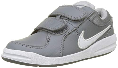 Nike Pico 4 (PSV), Chaussures de Tennis garçon, Gris (Cool White/Wolf Grey 022), 32 EU