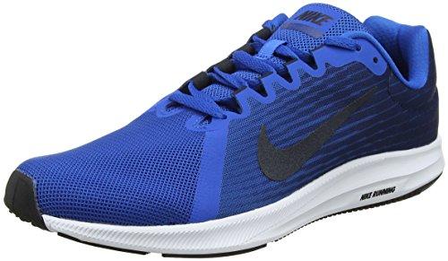 Nike Downshifter 8, Chaussures de Running Homme, Bleu (Blue Nebula/Dark Obsidian-Navy-White 401), 44 EU