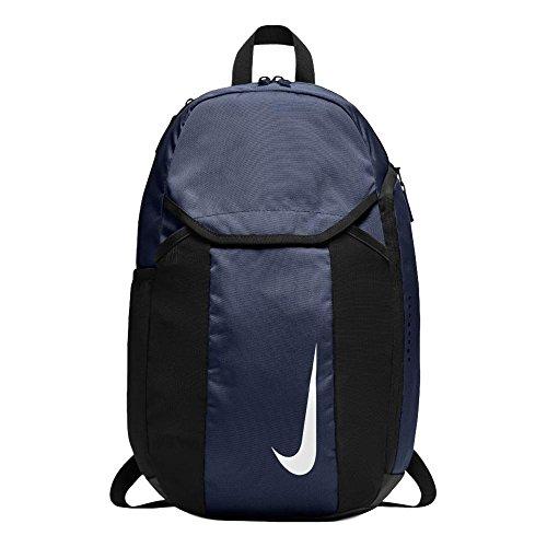 Nike NK ACDMY Team BKPK, Sac à Dos Mixte Adulte, Bleu (Midnvy/Blck/Whit), 24x36x45 Centimeters (W x H x L)