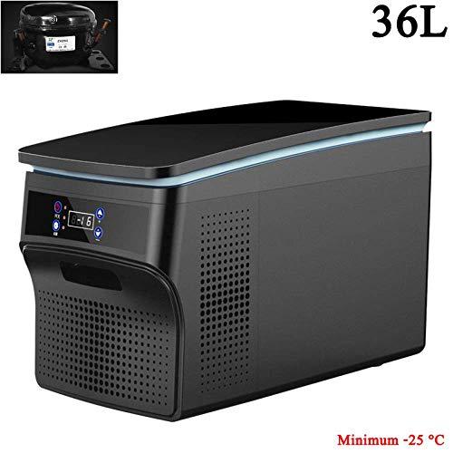 (26L/36L) Frigo De Camping Glaciere Electrique 24V/12V/220-240V 4 Mini Refrigerateur De Voiture RéFrigéRateur Portable Voiture Au Bureau Ou Camping,36L