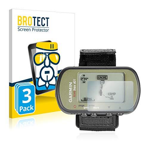 BROTECT Protection Ecran Verre pour Garmin Foretrex 401 [3 Pièces] - Protecteur Vitre 9H, AirGlass