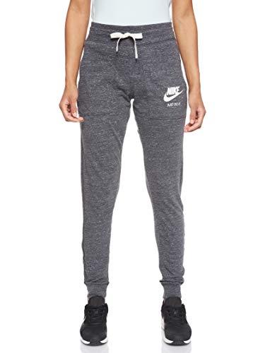Nike Sportswear Gym Vintage Pant Pantalon Femme, Gris (Anthracite/Sail), S