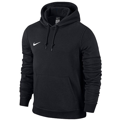 Nike 658498-010 Sweat-Shirt Homme, Noir/Football White, FR : L (Taille Fabricant : L)