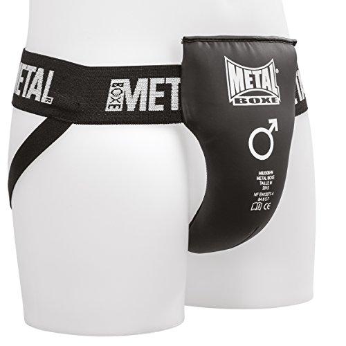 METAL BOXE Semi-Pro Coquille Homme, Noir, L