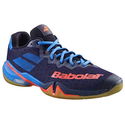 Babolat Chaussures de Badminton Hommes Shadow Tour 2019 30s1901 105 Noir/Bleu-4