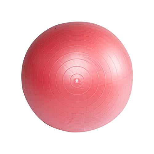 BIGTREE Ballon Fitness, de Gymnastique Balle, Yoga Pilates Core Training,de Yoga avec Pompe, Rouge, 55 cm