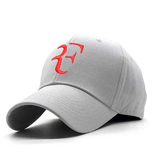 Mini casquette de baseball de la personnalité Cadeau d'anniversaire 100% coton broderie 3D Tennis étoile Roger Federer Chapeau de papa Sport Casquette de baseball unisexe Snapback Caps Tennis F Caps H