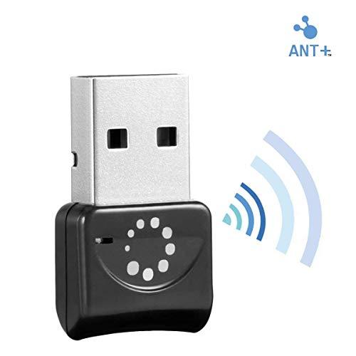 TAOPE Ant+ Récepteur USB Stick, Adaptateur Dongle pour Zwift, Garmin, Suunto, Zwift, PerfPRO Studio RC402