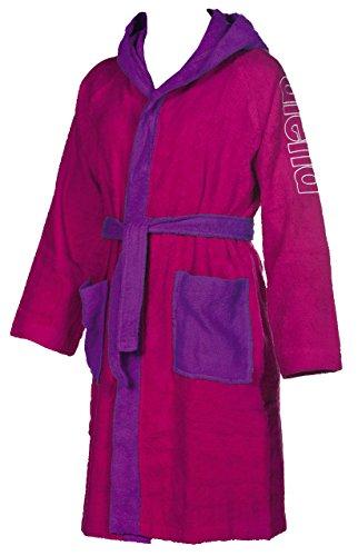 Arena Zebu Jr, Peignoir Mixte Adulte S Rose Violet/Agata Violet
