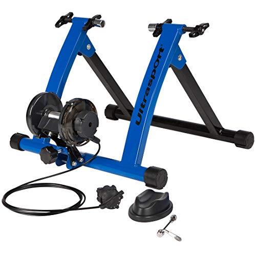 Ultrasport Lot de rouleaux d'entraînement pour vélo avec vitesse embrayable, certifié TÜV