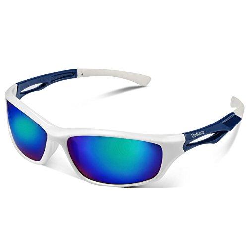 Duduma Lunettes de Soleil Polarisées Hommes Sports pour Ski Conduite Golf Course Cyclisme Conception du Cadre Super Léger Tr90 pour Hommes et Femmes