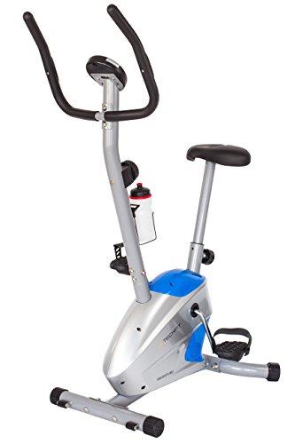 TechFit Velocity Vélo d'entraînement Magnétique Fitness, Machine Cardio à Résistance de Perte de Poids avec Selle Réglable, Capteurs d'impulsion et Moniteur LCD