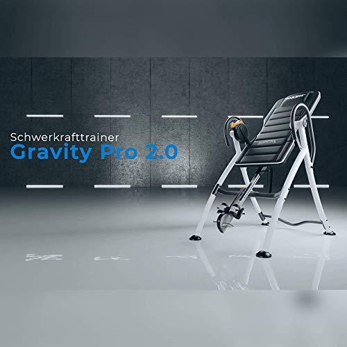 Maxxus Extenseur du Dos Gravity Pro 2.0 - Table d´Inversion