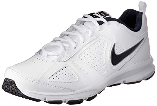 Nike - T- Lite XI - Chaussures de Fitness - Homme - Blanc (White/Obsidian-Black 101) - 43 EU