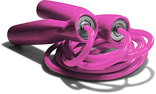 Excellerator - Corde à sauter - Matériel de remise en forme professionnel pour fitness, adulte - Corde à sauter ergonomique - Corde à sauter roulement 11 billes en acier sac de transport inclus