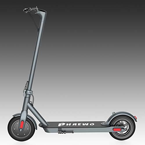 Trottinette Électrique adulte/Endurance 25km/25KPH/Deux moteurs /Pliable/Ultralight/Scooter électrique pour adultes et adolescents/ Facile à replier et à transporter (Garantie de la version UE)