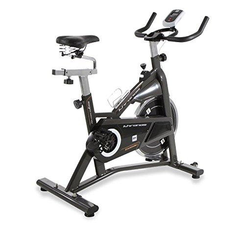 BH Fitness Khronos Basic II 10006327 Vélo de biking a friction - roue d'inertie de 20 Kg - Courroie Poly-V
