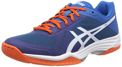 ASICS Volleyballschuh Gel-Tactic, Chaussures de Volleyball Homme, Bleu (Blue Print/White 401), 45 EU