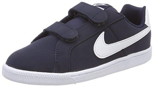 Nike Court Royale (PSV), Chaussures de Tennis garçon, Bleu (Obsidian/White 400), 35 EU