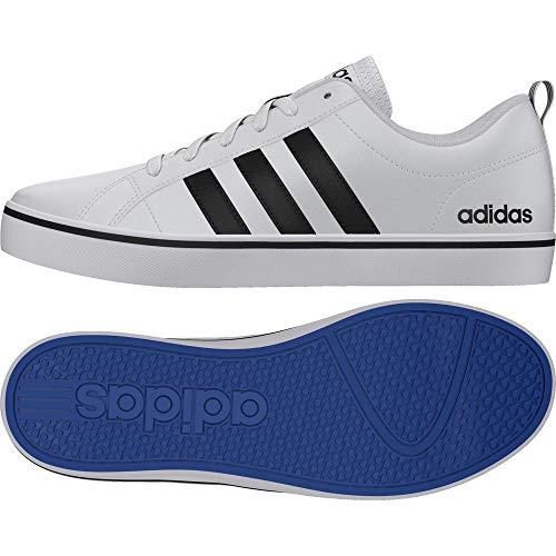 adidas Pace Vs Aw4594, Chaussures de Sport Homme, Blanc (Ftwbla/Negbás/Azul 000) 44 EU