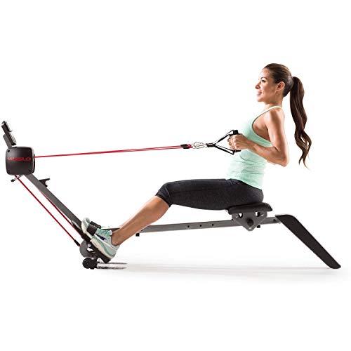 Weslo Flex Rower 3.0 Rameur à tirage Central/Résistance Ajustable/2 exercices en 1 : Musculation des Bras et Cardio-Training