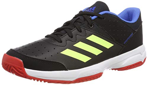 adidas Court Stabil Jr, Chaussures de Handball Mixte Adulte, Multicolore (Multicolor 000), 39 1/3 EU