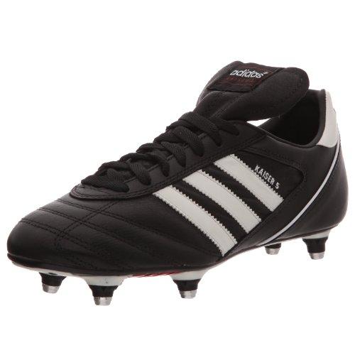 Adidas Kaiser 5 Cup Chaussures de football homme Noir (Noir/Blanc/Rouge) - 43 1/3 EU