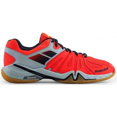 Babolat Chaussures de Badminton Hommes Shadow Spirit 2017 30s1703 Orange/Gris-4