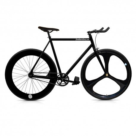 Vélo Fix 3 black. monomarcha Fixie/single speed. Taille 53