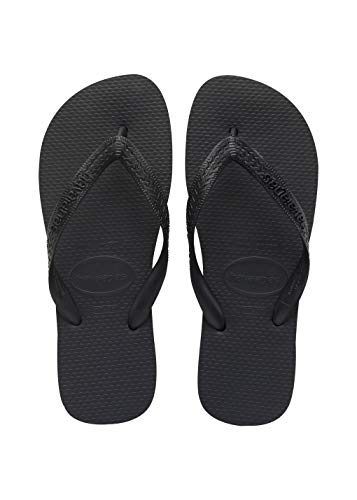 Havaianas - 4000029 - Top - Tongs - Mixte Adulte - Noir - 43/44 EU (41/42 Brazilian)
