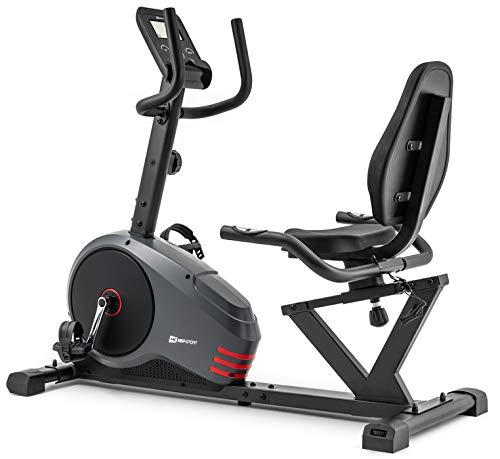 Hop-Sport Vélo d'appartement Semi-allongé HS-050L Hawk Velo Assis inertie 13,5kg