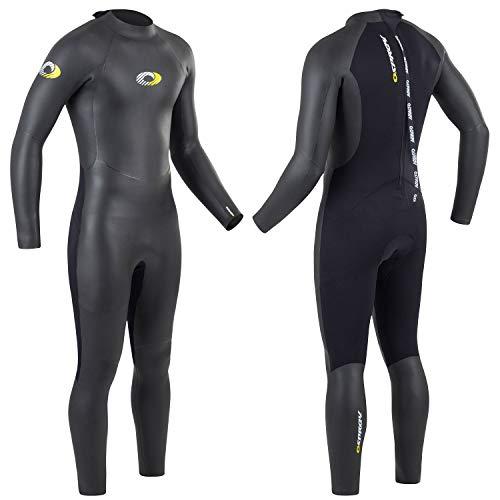 Osprey combinaison intégrale triathlon homme été néoprène 5 mm pour triathlon, ironman, natation en eau libre et en mer