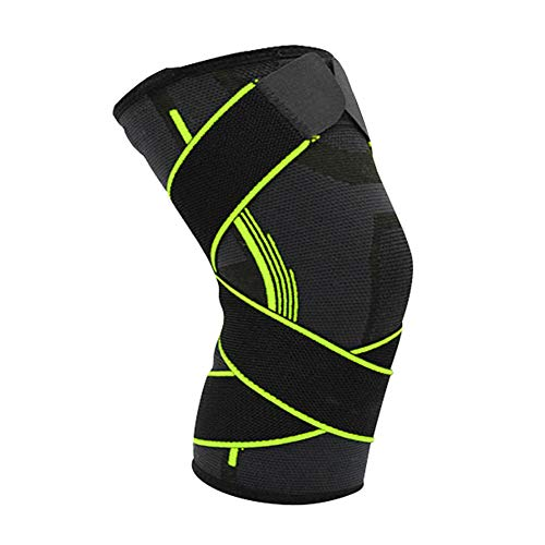 Bandeau de compression genou unisexe protège ligament croisé antérieur soulage douleurs d'arthrose articulaires tendinite rotuliennes prévient blessures sportives pour gymnastique basket-ball course