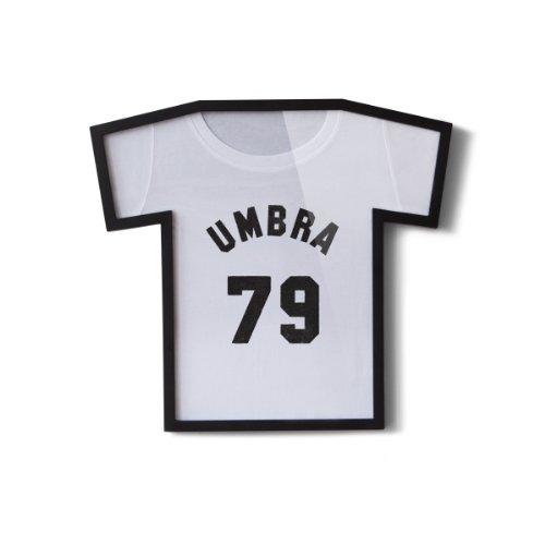 UMBRA T-Frame. Cadre pour tee shirt de collection T-Frame. Plastique moulé noir et plexiglass.