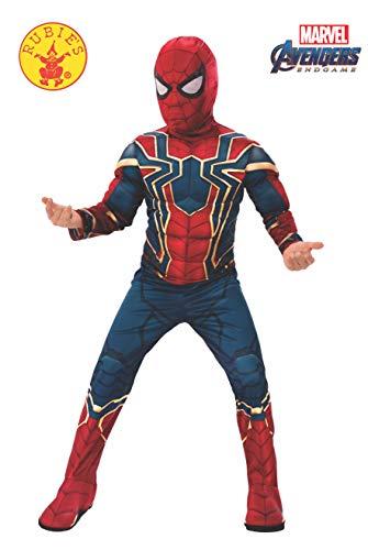 Rubie's Déguisement Avengers Iron Spiderman Deluxe pour enfant, Taille M, 5-7 ans, Hauteur 132 cm - Version Anglaise