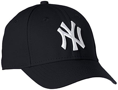 New York NY Yankees MLB League Basic 9Forty Casquette Ajustée Fit Navy / Blanc , Enfant