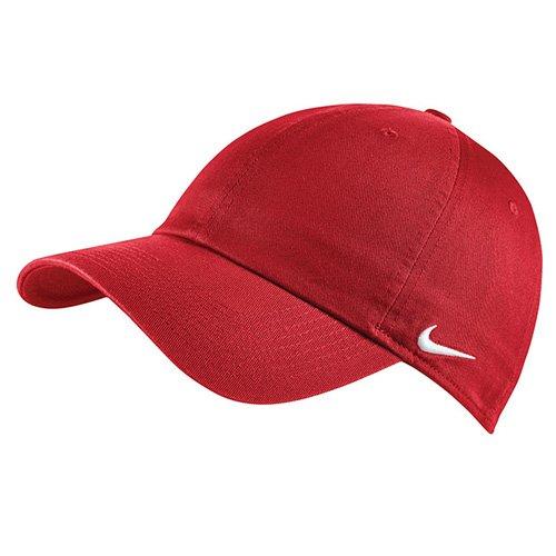 Nike 102699-658 Casquette Rouge université/Blanc FR : Taille Unique (Taille Fabricant : Taille Unique)