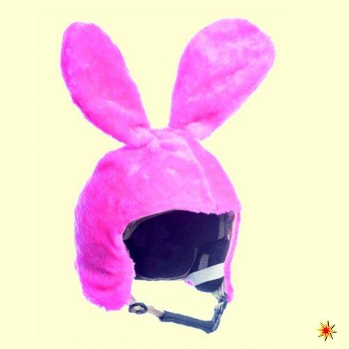 Couvre casque de ski Housse Lapin Rose, Bunny, bonnet