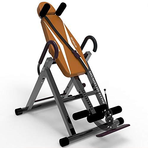 Yocobo Machine inversée Machine d'étirement du Dos avec Confort de Table d'inversion avec Support Dorsal Ultra-épais jusqu'à Table d'inversion pour l'entraînement du Dos