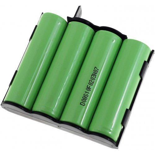 Powery Batterie pour électrostimulateur Compex Runner, 4,8V, NiMH [ Batterie pour appareils électroménagers ]