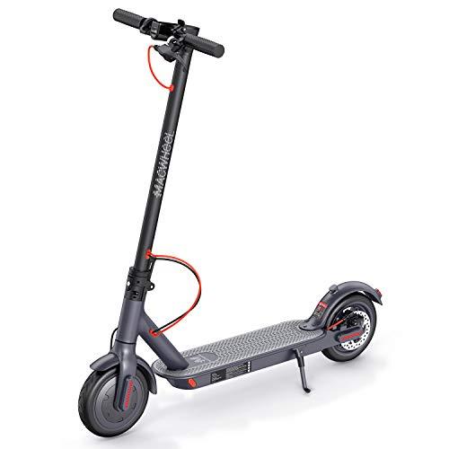 Macwheel Trottinette Electrique Pliable, Moteur Puissant de 350W, Autonomie de 30 km, Vitesse Maximale de 25 km/h, Pneu Polyuréthane Increvable de Diamètre de 8,5', Scooter pour Adultes(MX1)