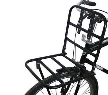 Porte-bagages avant pour vélo hollandais pour porte-bagages-noir