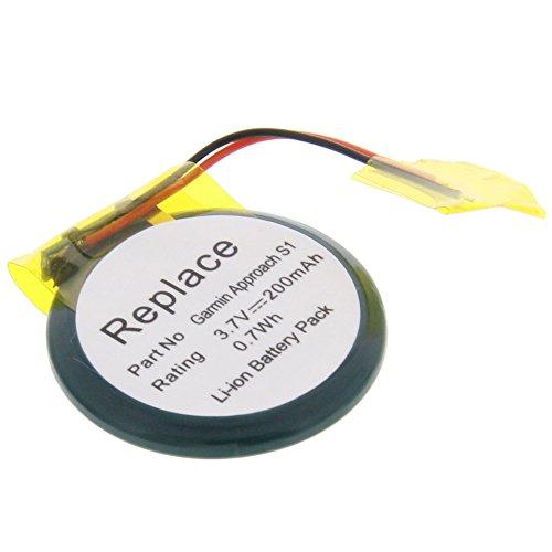 Batterie pour Garmin Approach S1Approach S2Forerunner 210W Forerunner 210Forerunner 110Forerunner S1W Forerunner S1