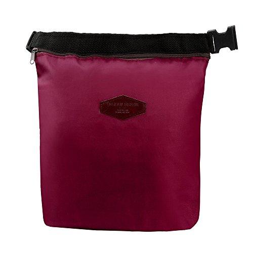NEEKY Mode Sacs-Repas Refroidisseur Thermique étanche Boîte à Lunch isolée Rangement Portable Sac de Pique-niques Sac à Main Lunch Bag (28cm×24cm×9cm)