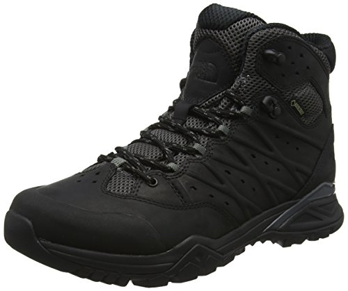 The North Face Hedgehog Hike II Mid Gore-tex, Chaussures de Randonnée Hautes Homme, Noir (TNF Black/Graphite Grey Ku6), 43 EU