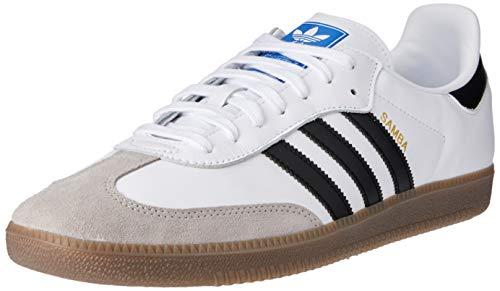 adidas Samba OG, Chaussures de Fitness Homme, Blanc (Ftwbla/Negbás/Gracla 000), 41 1/3 EU