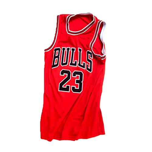 Holdzhu T-Shirts De Basket-Ball pour Hommes Et Unisexes - Nouvelle Saison Chicago Bulls Jordan 23# Jersey - Débardeur Classical Red Sleeveless