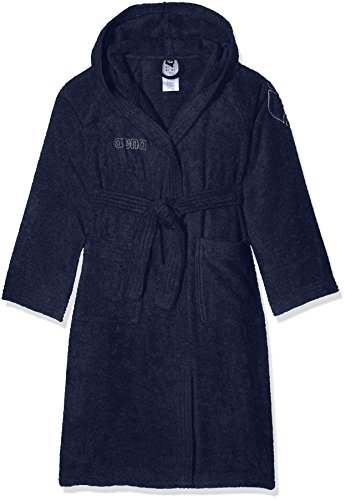 arena Zodiaque Youth Peignoir Mixte Enfant L Navy/Metallic Silver