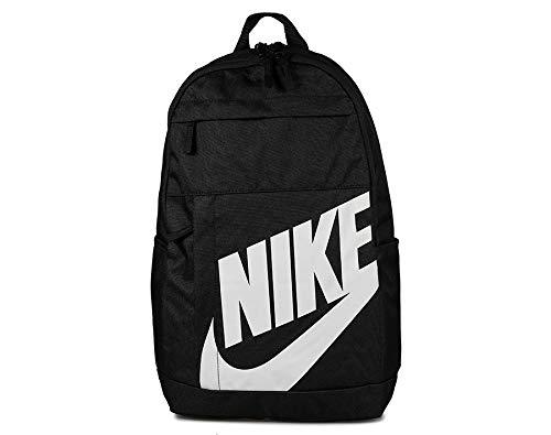 Nike NK ELMNTL BKPK-2.0 Sac à Dos de Sport Mixte Adulte, Black/Black/(White), FR Unique (Taille Fabricant : MISC)